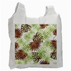 Tropical Pattern Recycle Bag (one Side) by ValentinaDesign