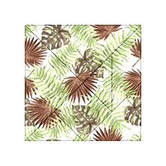 Tropical Pattern Acrylic Tangram Puzzle (4  X 4 ) by ValentinaDesign