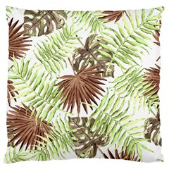 Tropical Pattern Large Cushion Case (two Sides) by ValentinaDesign