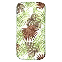 Tropical Pattern Samsung Galaxy S3 S Iii Classic Hardshell Back Case by ValentinaDesign