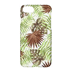 Tropical Pattern Apple Iphone 7 Hardshell Case by ValentinaDesign