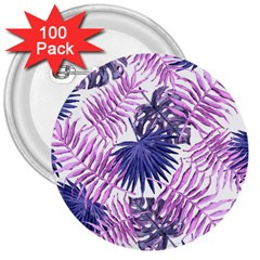 Tropical Pattern 3  Buttons (100 Pack)  by ValentinaDesign