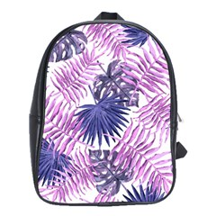 Tropical Pattern School Bag (large) by ValentinaDesign