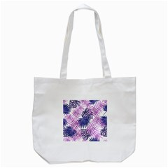 Tropical Pattern Tote Bag (white) by ValentinaDesign