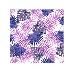 Tropical Pattern Small Satin Scarf (square) by ValentinaDesign