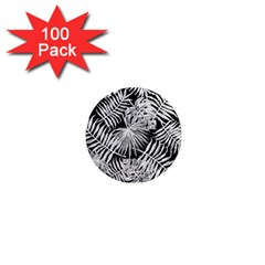 Tropical Pattern 1  Mini Magnets (100 Pack)  by ValentinaDesign
