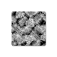 Tropical Pattern Square Magnet by ValentinaDesign