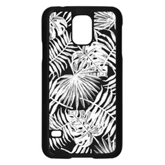 Tropical Pattern Samsung Galaxy S5 Case (black) by ValentinaDesign