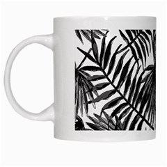 Tropical Pattern White Mugs by ValentinaDesign