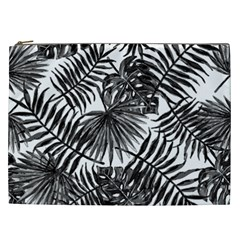 Tropical Pattern Cosmetic Bag (xxl)  by ValentinaDesign