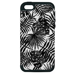 Tropical Pattern Apple Iphone 5 Hardshell Case (pc+silicone) by ValentinaDesign