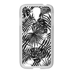 Tropical Pattern Samsung Galaxy S4 I9500/ I9505 Case (white) by ValentinaDesign