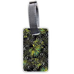 Tropical Pattern Luggage Tags (one Side)  by ValentinaDesign