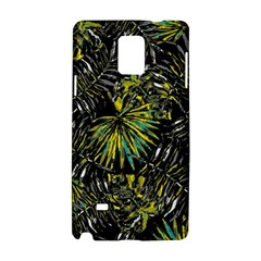 Tropical Pattern Samsung Galaxy Note 4 Hardshell Case by ValentinaDesign