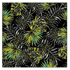 Tropical Pattern Large Satin Scarf (square) by ValentinaDesign