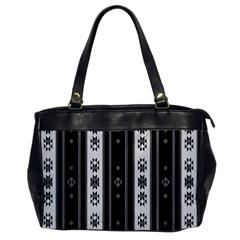 Folklore Pattern Office Handbags by ValentinaDesign