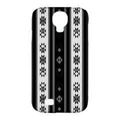Folklore Pattern Samsung Galaxy S4 Classic Hardshell Case (pc+silicone) by ValentinaDesign