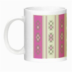 Folklore Pattern Night Luminous Mugs by ValentinaDesign