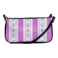 Folklore Pattern Shoulder Clutch Bags by ValentinaDesign