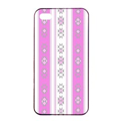Folklore Pattern Apple Iphone 4/4s Seamless Case (black) by ValentinaDesign