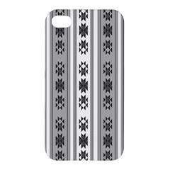 Folklore Pattern Apple Iphone 4/4s Premium Hardshell Case by ValentinaDesign