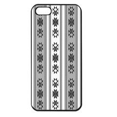 Folklore Pattern Apple Iphone 5 Seamless Case (black) by ValentinaDesign