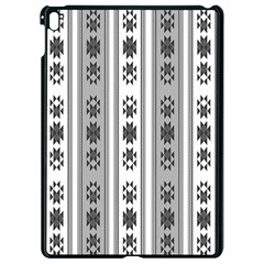 Folklore Pattern Apple Ipad Pro 9 7   Black Seamless Case by ValentinaDesign
