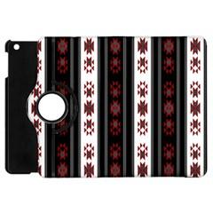 Folklore Pattern Apple Ipad Mini Flip 360 Case by ValentinaDesign