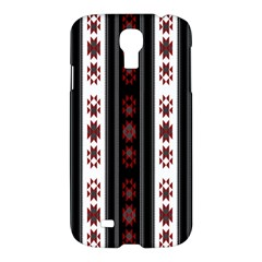 Folklore Pattern Samsung Galaxy S4 I9500/i9505 Hardshell Case by ValentinaDesign