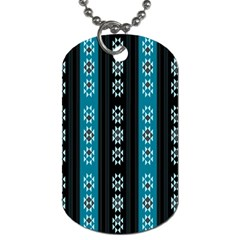Folklore Pattern Dog Tag (one Side) by ValentinaDesign