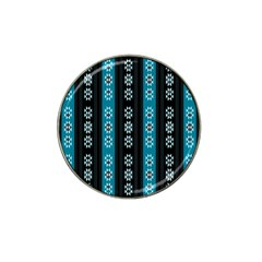 Folklore Pattern Hat Clip Ball Marker by ValentinaDesign