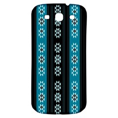 Folklore Pattern Samsung Galaxy S3 S Iii Classic Hardshell Back Case by ValentinaDesign