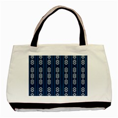 Folklore Pattern Basic Tote Bag (two Sides) by ValentinaDesign