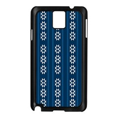 Folklore Pattern Samsung Galaxy Note 3 N9005 Case (black) by ValentinaDesign