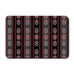 Folklore Pattern Small Doormat  by ValentinaDesign