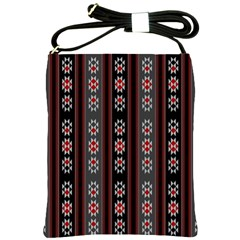 Folklore Pattern Shoulder Sling Bags