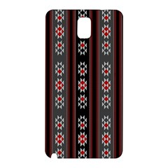 Folklore Pattern Samsung Galaxy Note 3 N9005 Hardshell Back Case by ValentinaDesign