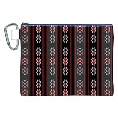 Folklore Pattern Canvas Cosmetic Bag (xxl) by ValentinaDesign