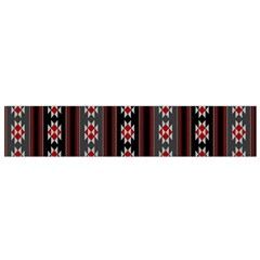 Folklore Pattern Flano Scarf (small) by ValentinaDesign