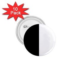 Black And White 1 75  Buttons (10 Pack) by Valentinaart