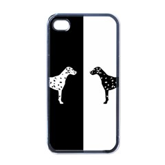 Dalmatian Dog Apple Iphone 4 Case (black) by Valentinaart