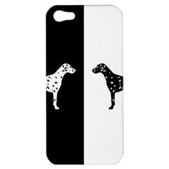 Dalmatian Dog Apple Iphone 5 Hardshell Case by Valentinaart