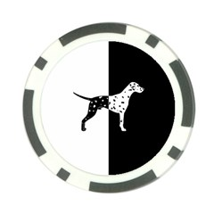 Dalmatian Dog Poker Chip Card Guard (10 Pack) by Valentinaart