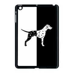 Dalmatian Dog Apple Ipad Mini Case (black) by Valentinaart