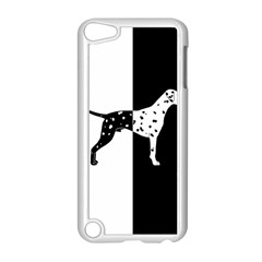 Dalmatian Dog Apple Ipod Touch 5 Case (white) by Valentinaart