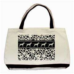 Dalmatian Dog Basic Tote Bag by Valentinaart