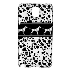 Dalmatian Dog Samsung Galaxy Note 3 N9005 Hardshell Case by Valentinaart