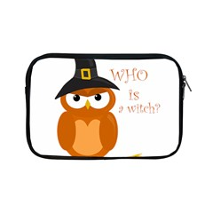 Halloween Orange Witch Owl Apple Ipad Mini Zipper Cases by Valentinaart