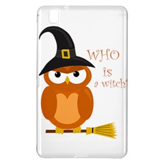 Halloween Orange Witch Owl Samsung Galaxy Tab Pro 8 4 Hardshell Case by Valentinaart