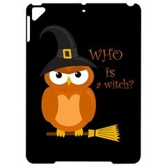 Halloween Orange Witch Owl Apple Ipad Pro 9 7   Hardshell Case by Valentinaart